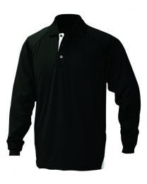 Mens Long Sleeved Team Polo