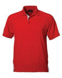 Mens Short Sleeved Team Polo