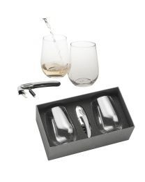 Wine Glass Set-Clear
