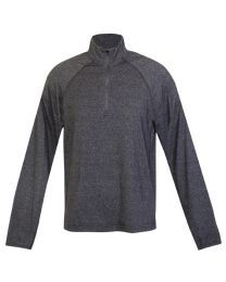 Mens Greatness Half Zip Mock Neck