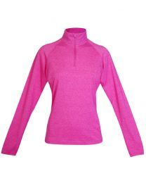 Ladies Greatness Half Zip Mock Neck