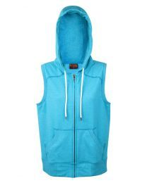 Ladies/Junior Greatness Sleeveless Zip Hoodie
