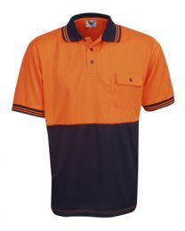 Hi Vis Cooldry Short Sleeve Polo