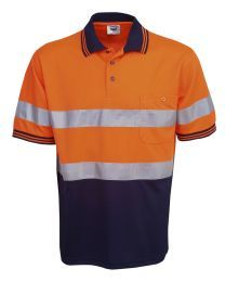 Hi Vis Day/Night Cooldry Short Sleeve Polo