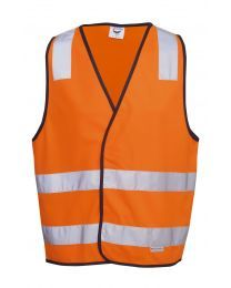 Hi Vis Safety Vest Day/Night H pattern