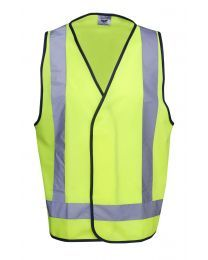 Hi Vis Safety Vest Day/Night X pattern
