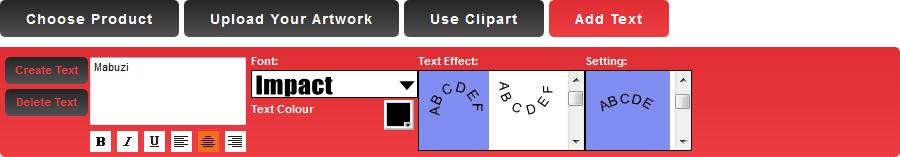 Mabuzi Lab Assistant: Adding custom text.