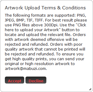 Mabuzi Lab Assistant: Adding custom artwork #1.